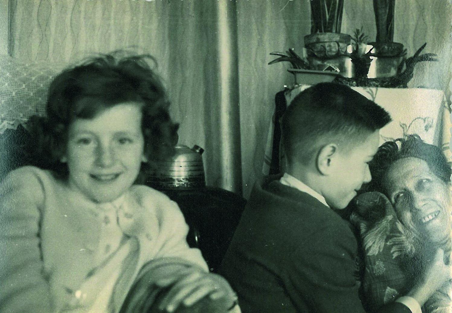 Marie Claire und Mama 1959