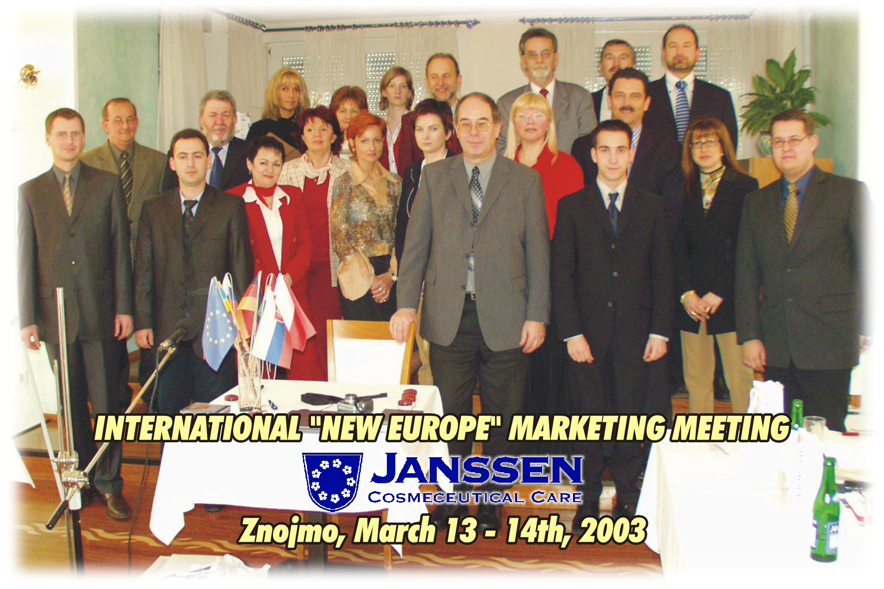 Marketing Meeting in Znojmo 2003