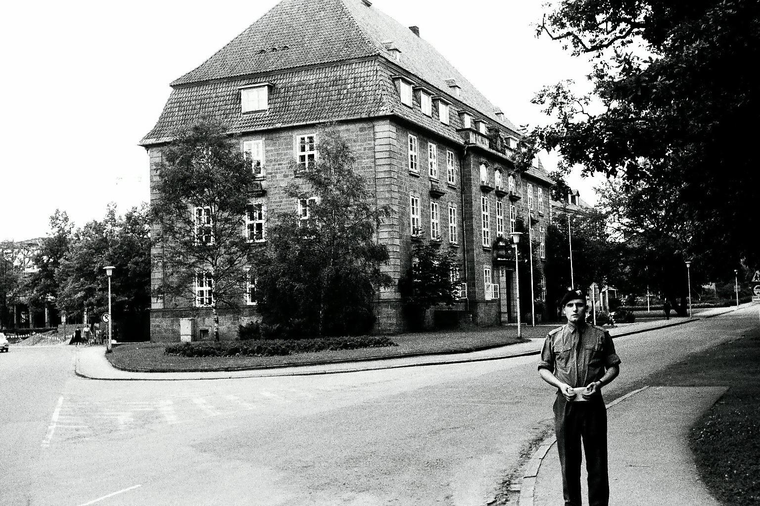 Kaserne in Arolsen 1967