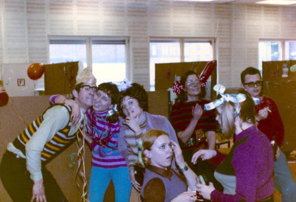 Karneval bei Lindt 1972