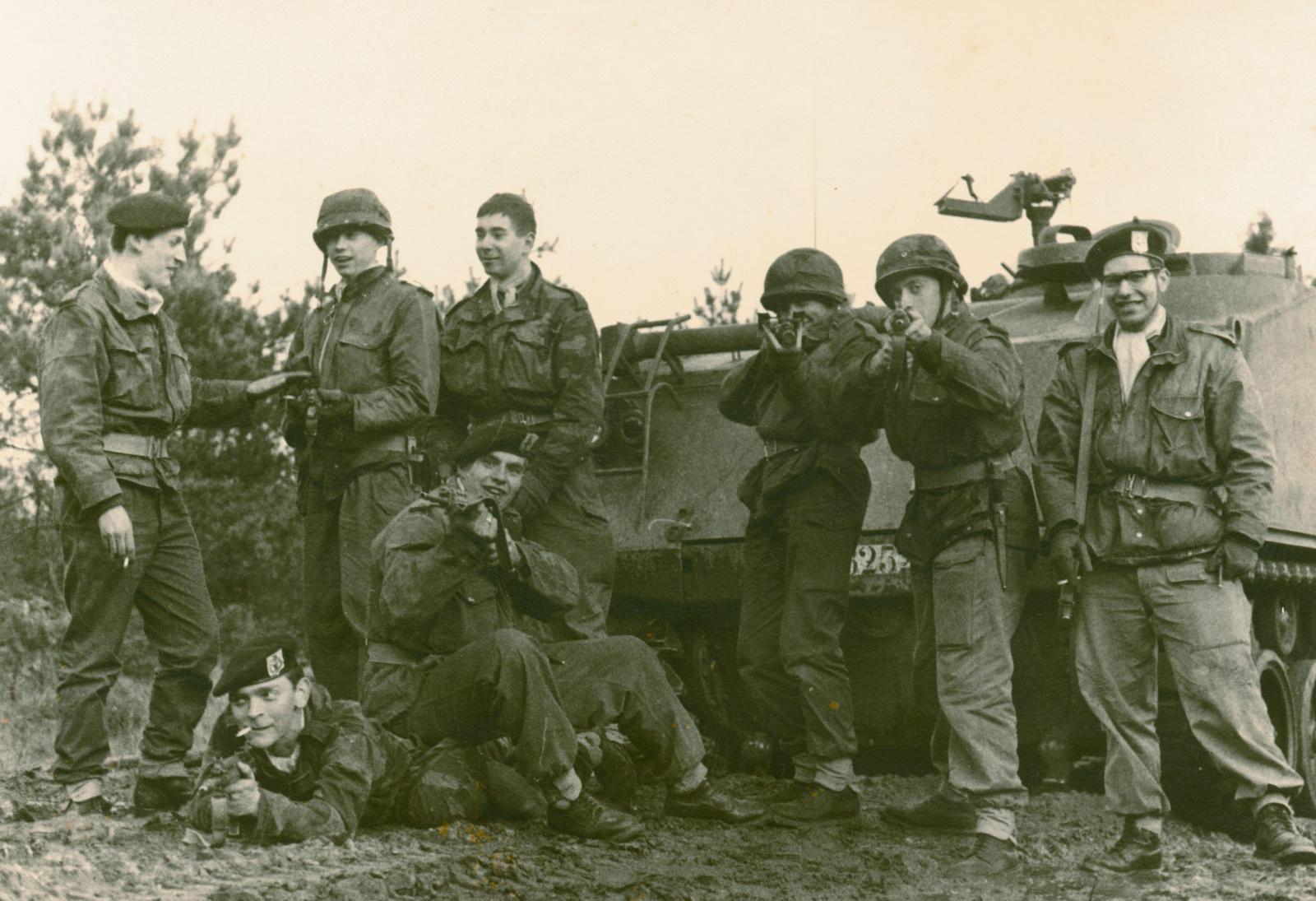 Manöver in Bastogne 1966