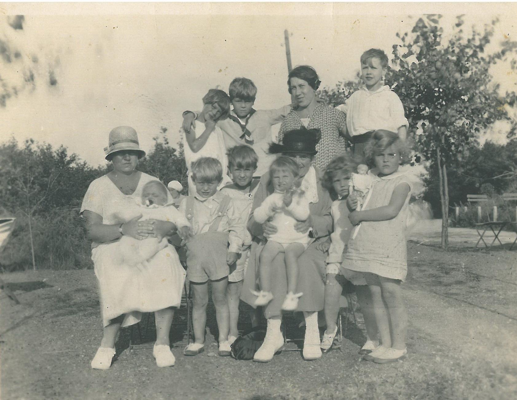 Mit Familie Knauf an der Nordsee 1933