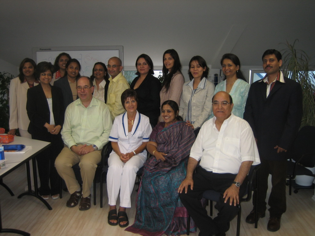 First seminar for India with Mr. Ram Matai 2006