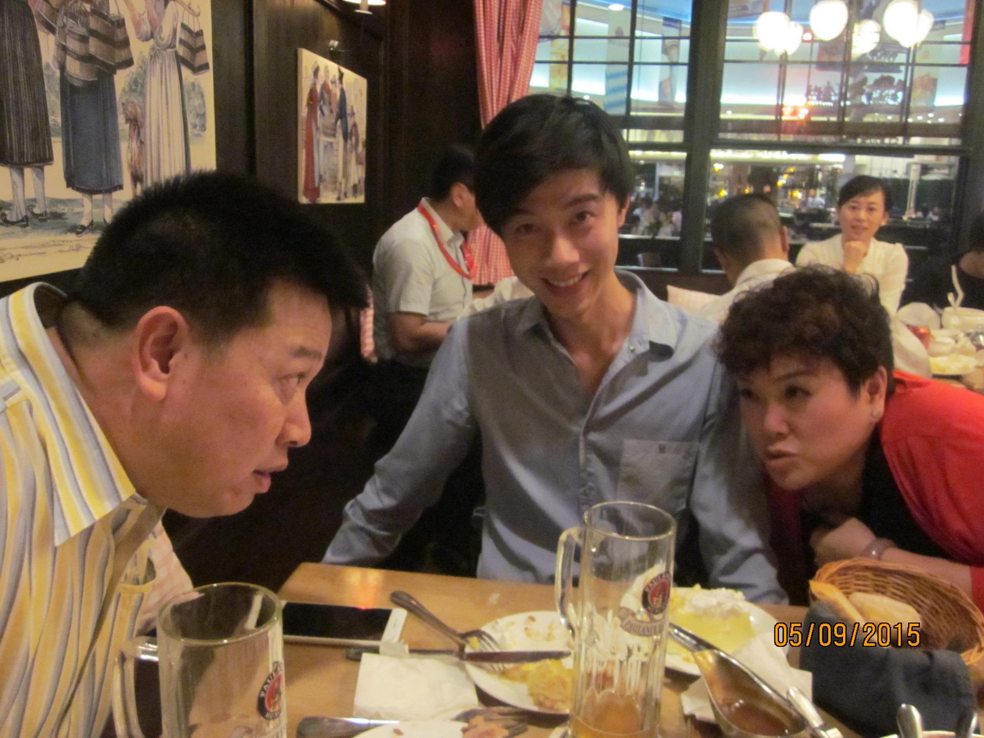 Mit Ken und Stanley