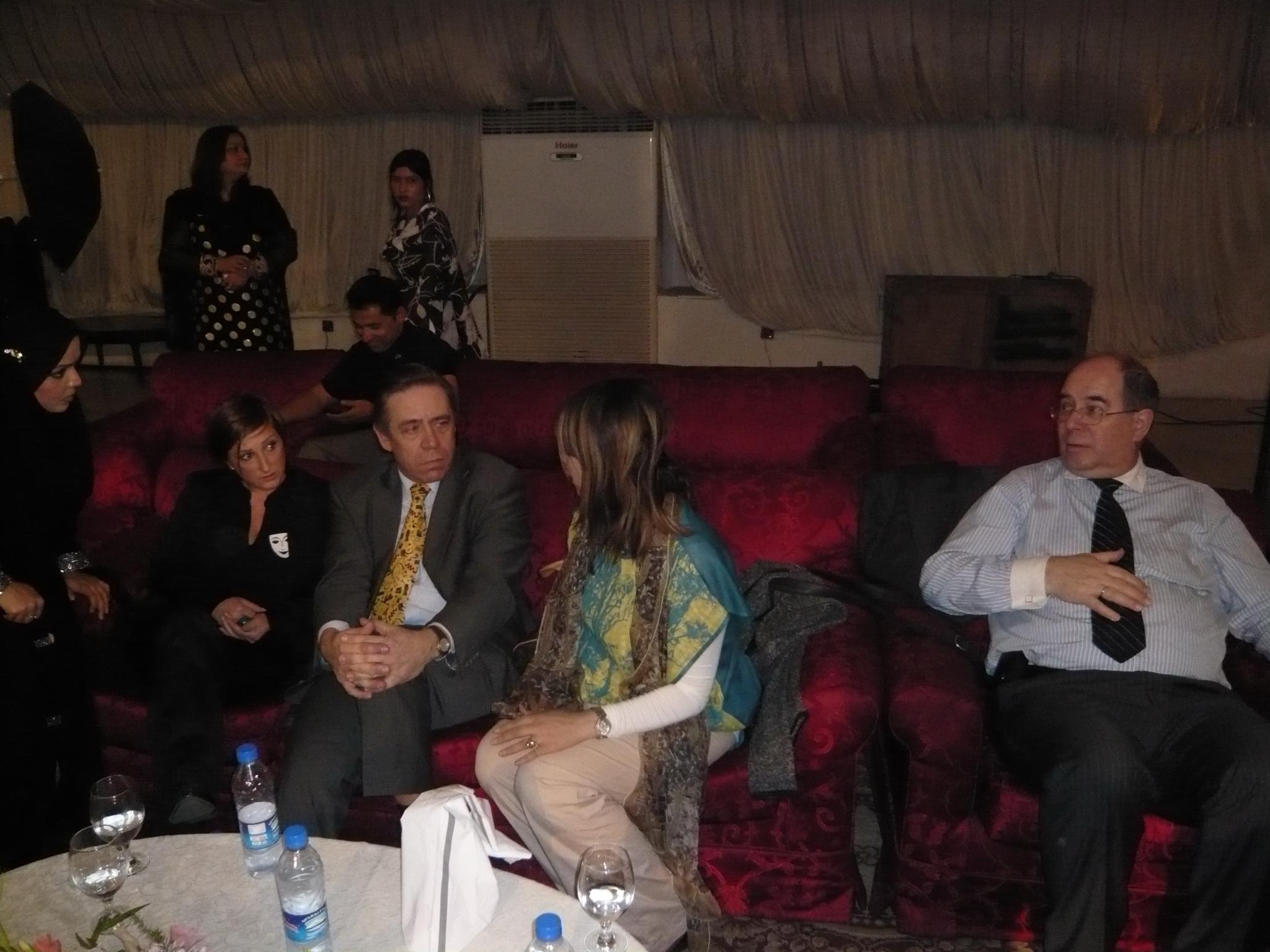 Mit Wolfram Langer in Pakistan 2010