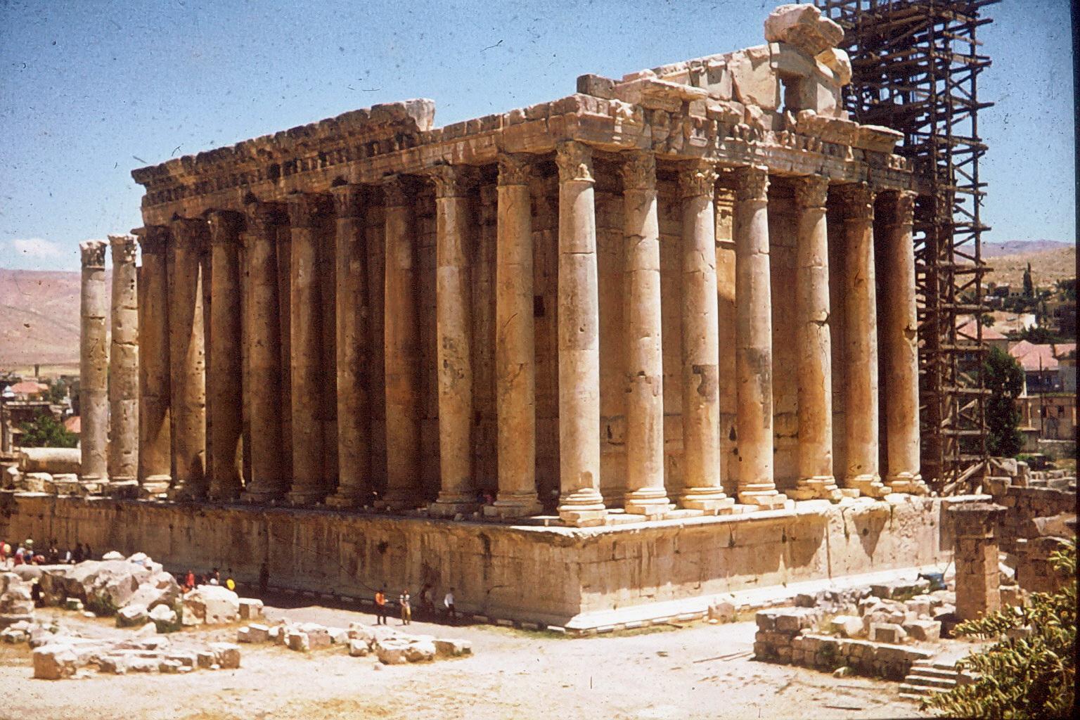 Bacchustempel in Baalbek