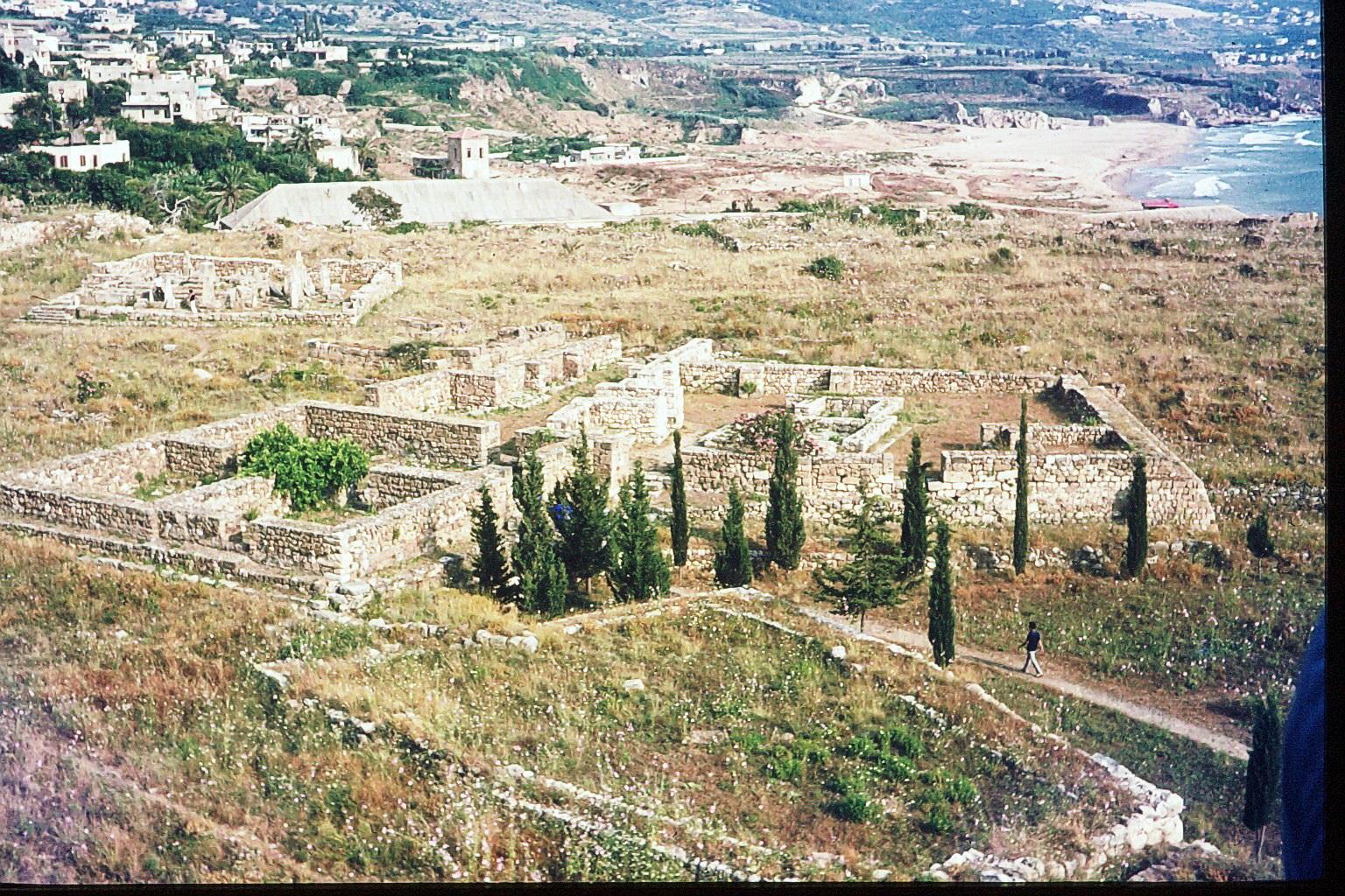Sidon - archeologische Ausgrabunden
