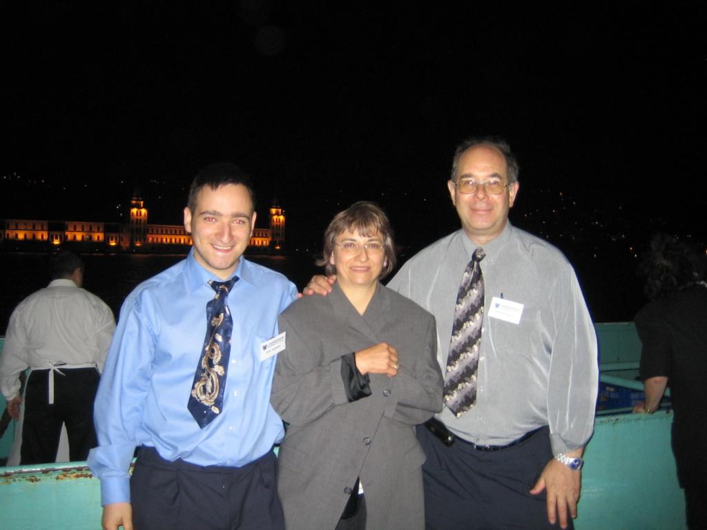 ... mit Elka und Erik in Istanbul 2005