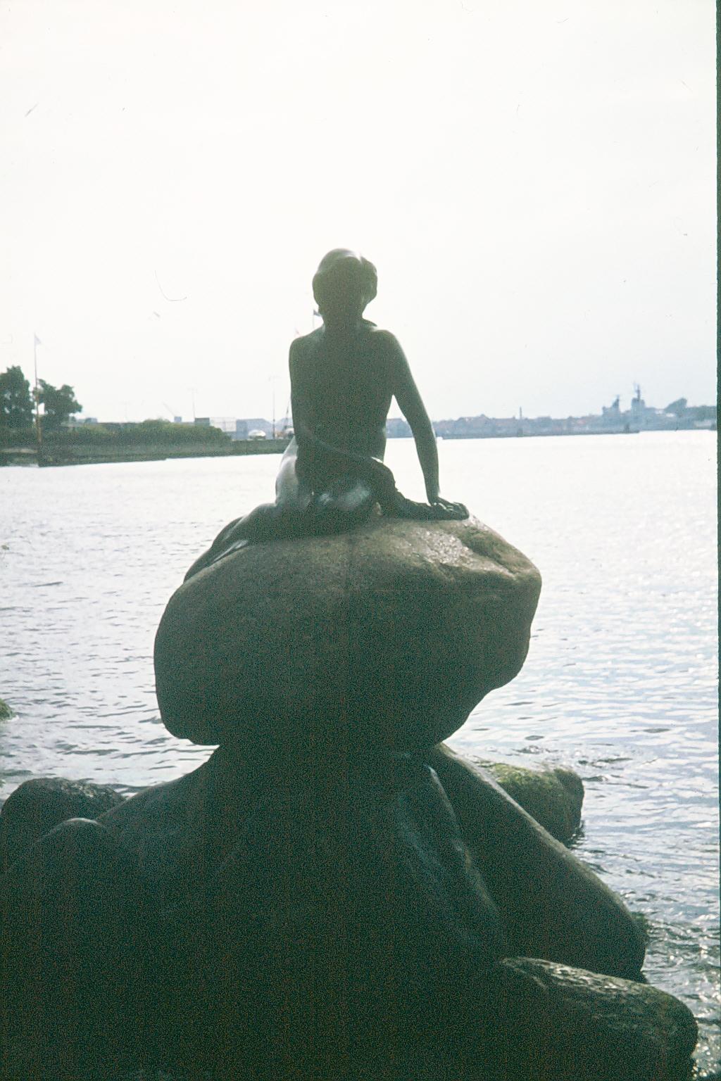 Mermaid in Kopenhagen