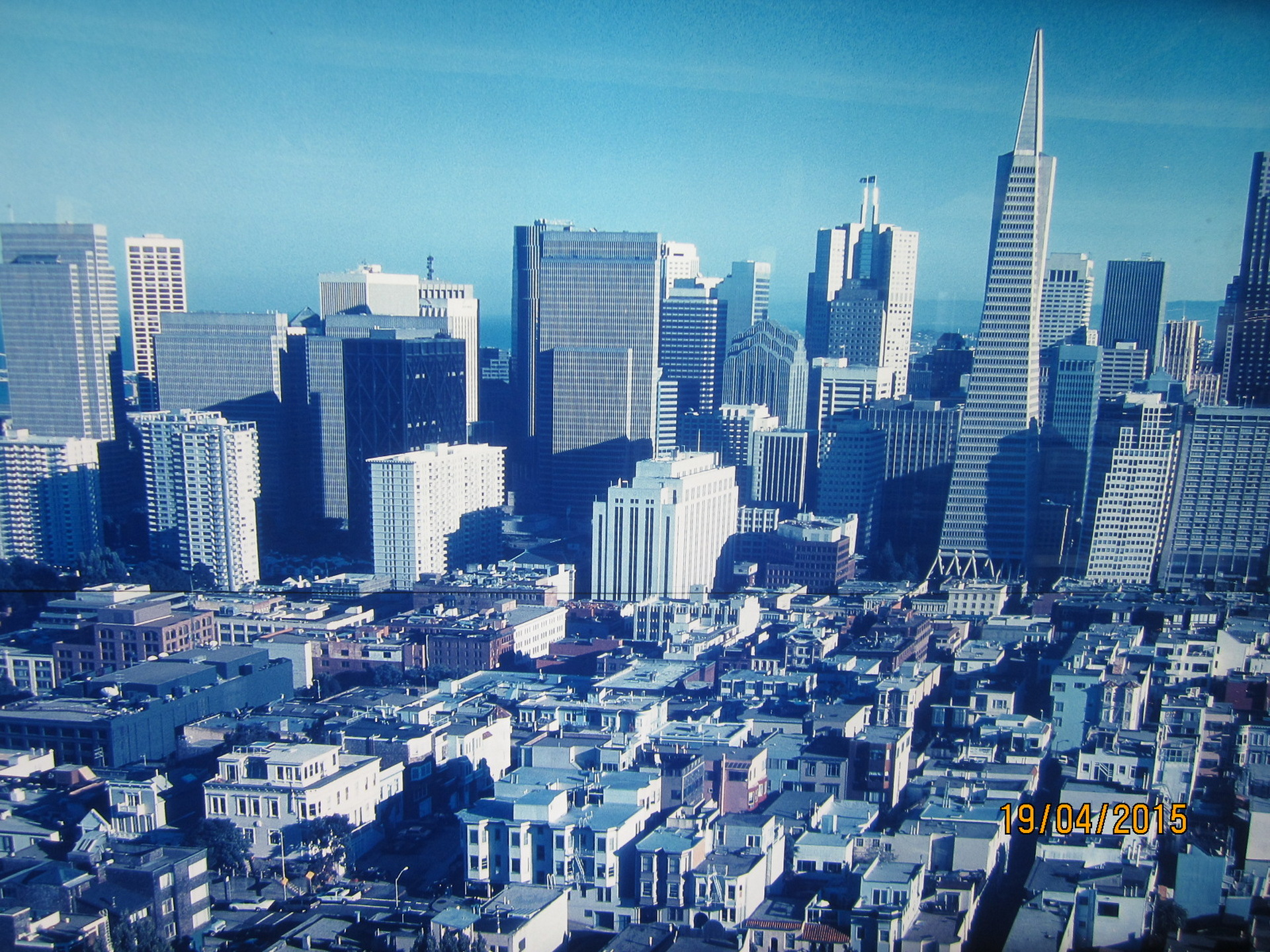 San Francisco Skyline 2015