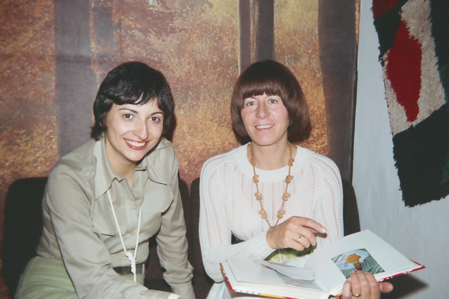 Frau Klonz und Elka