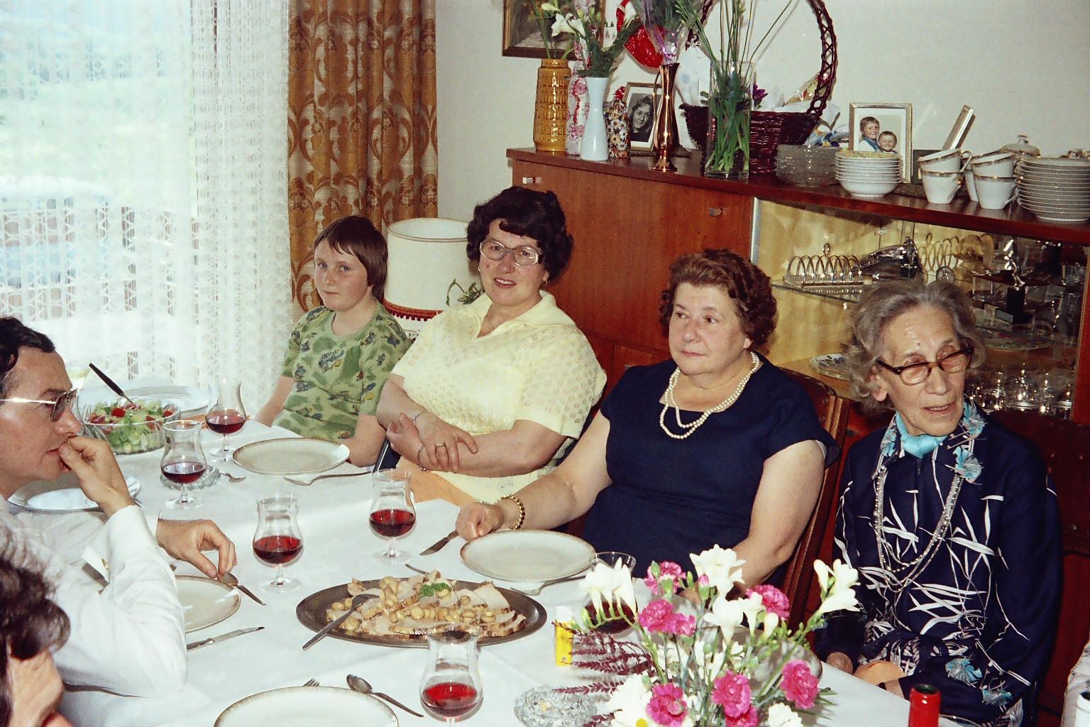 Tante Bertha und Tante Marie