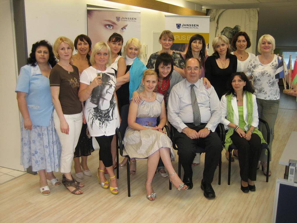 Russisch sprechende Gaste aus Moldova und Belarus 2010