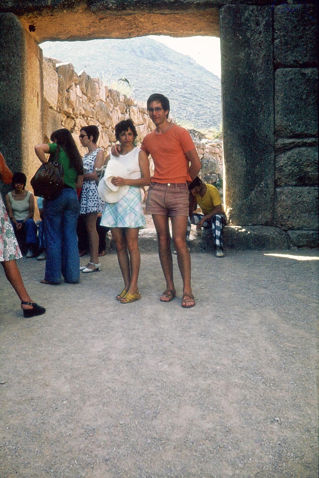 Plaka in Athen 1975