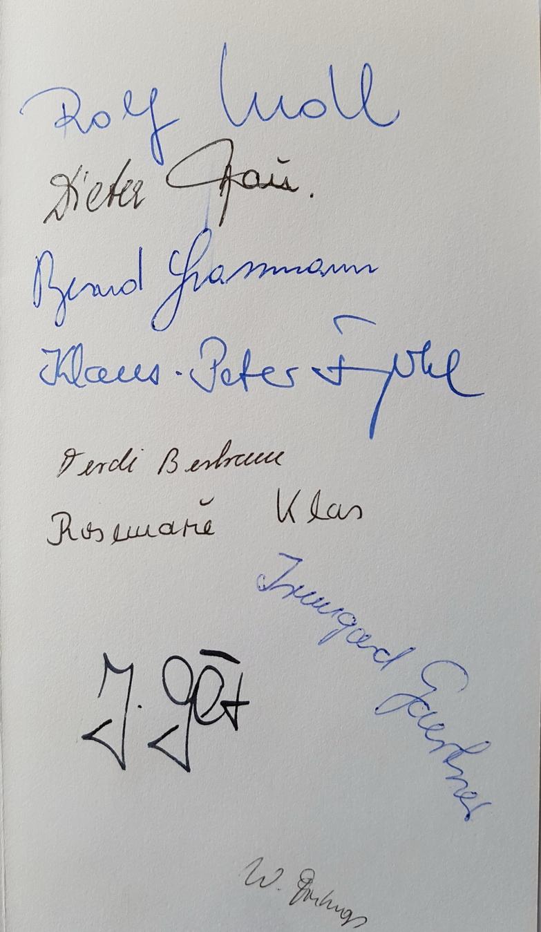 Geburtstag bei Lindt 1971