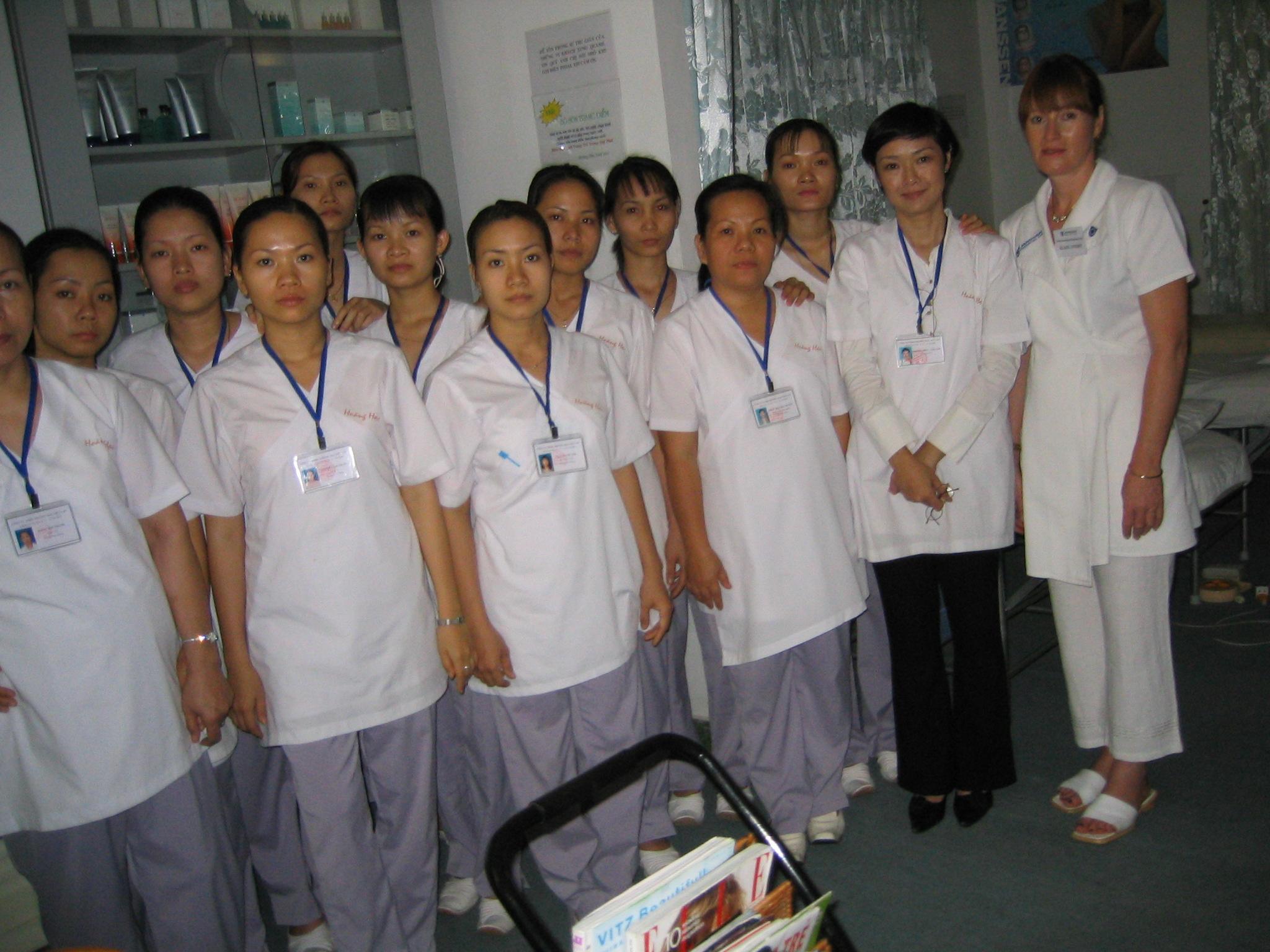 Klara Doert besucht Vietnam 2003