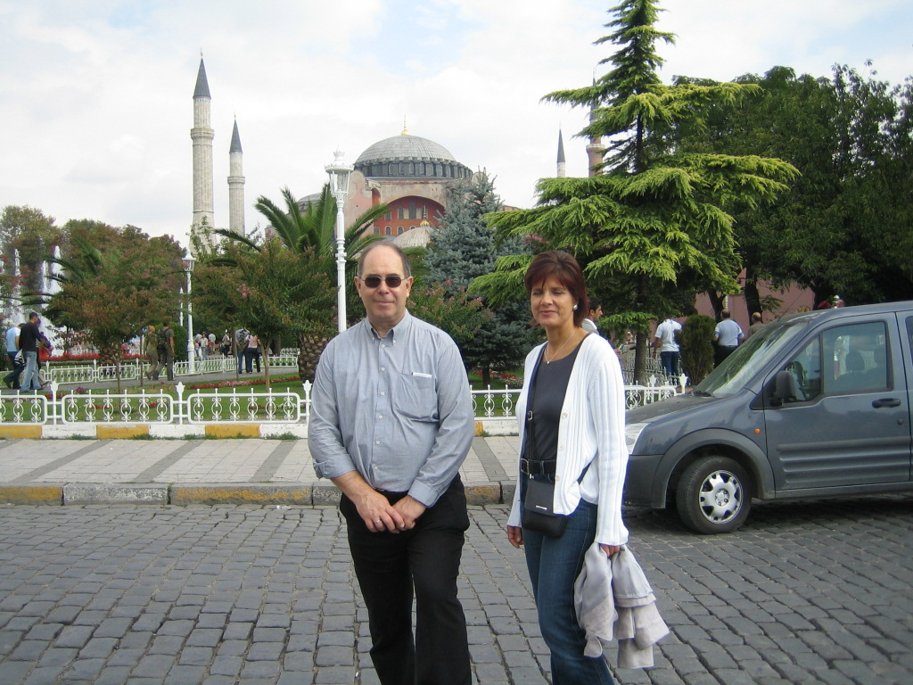 ... with Jutta in Istanbul 2005