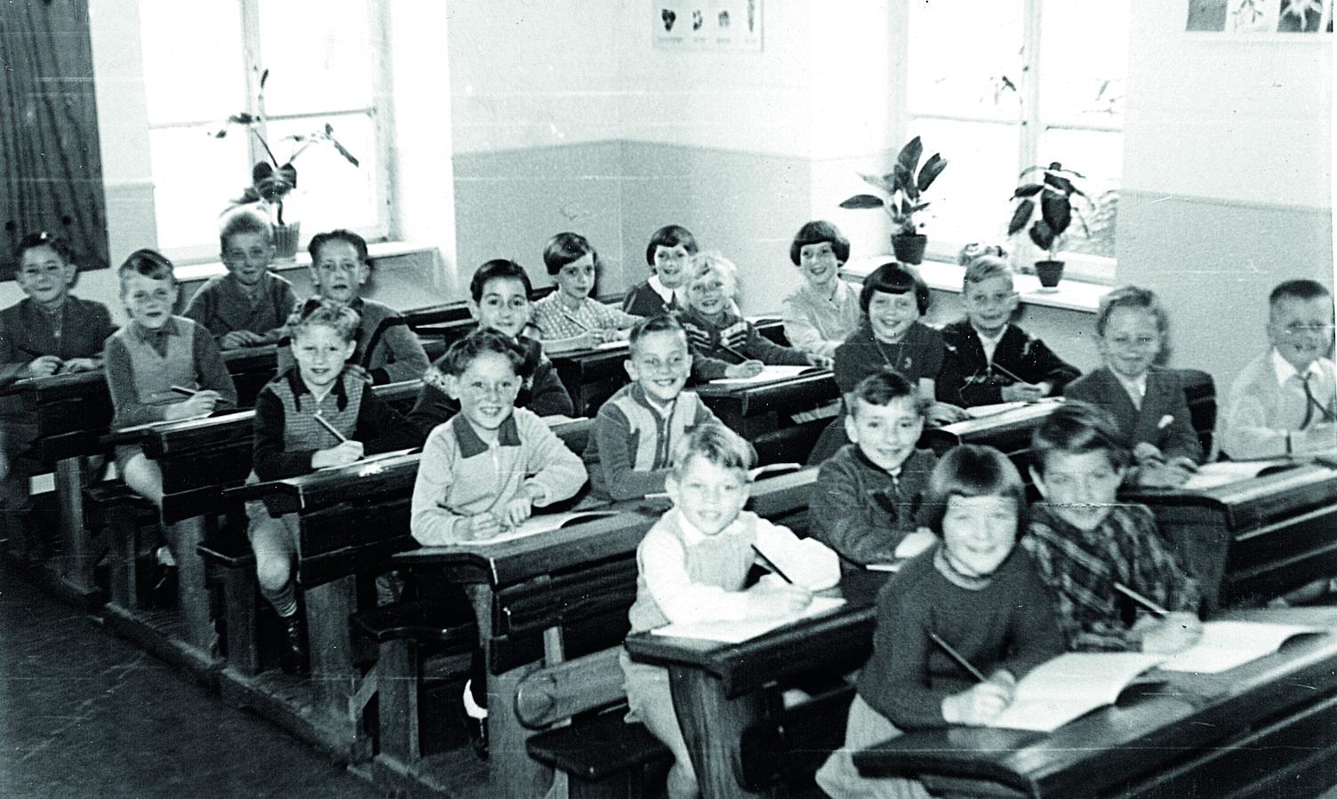 Dorfschulklasse 1955-1956