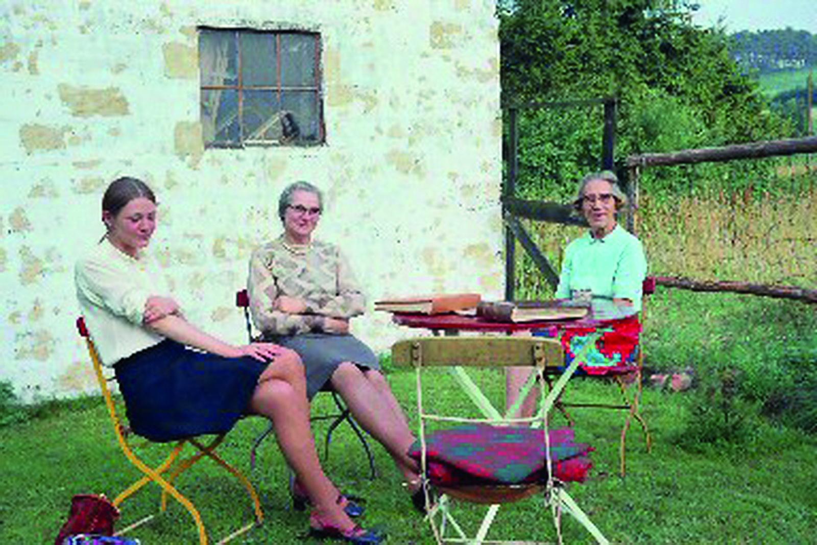 Besuch von Mme Hanon und Tocher Marie Thérèse