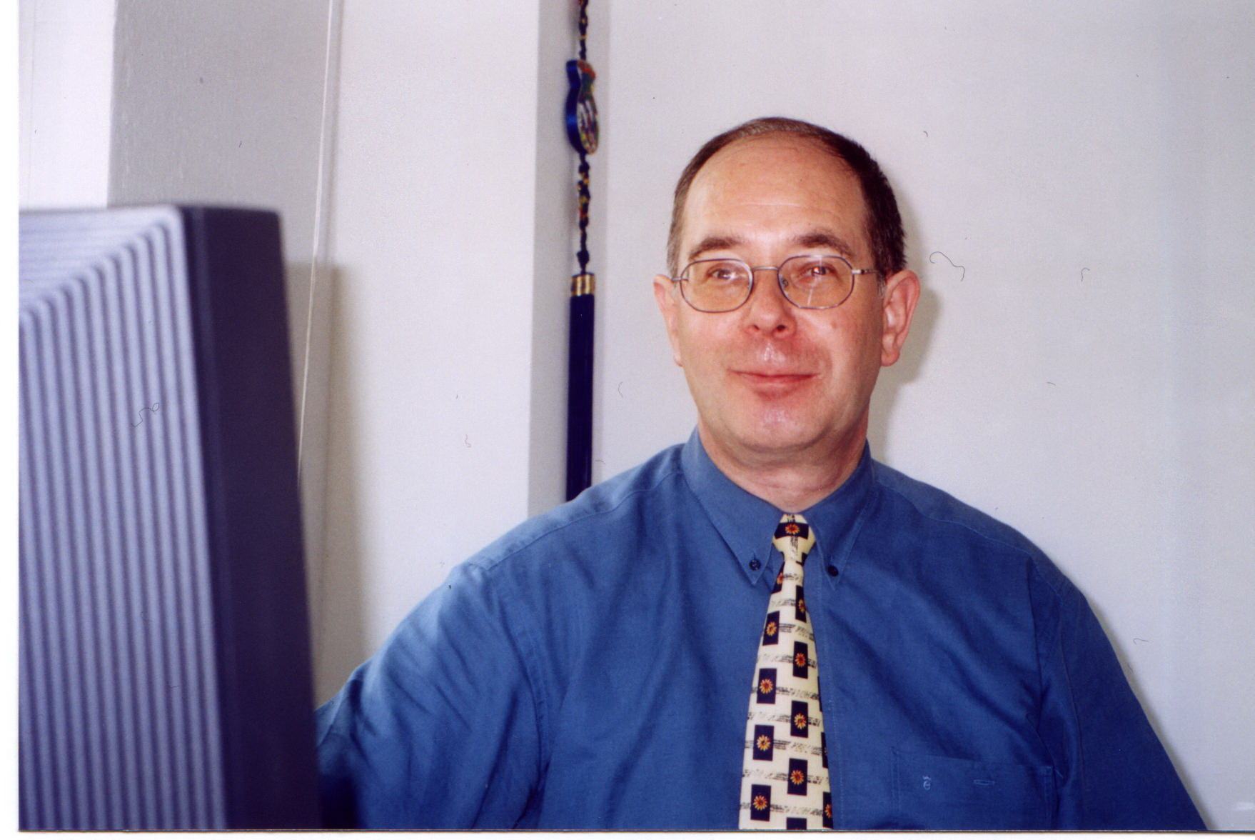 Walther Janssen: der Hausherr im Neubau Januar 2001