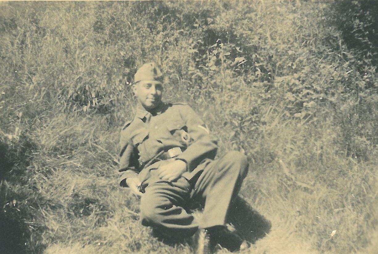 ... und der Rekrut Richard 1941