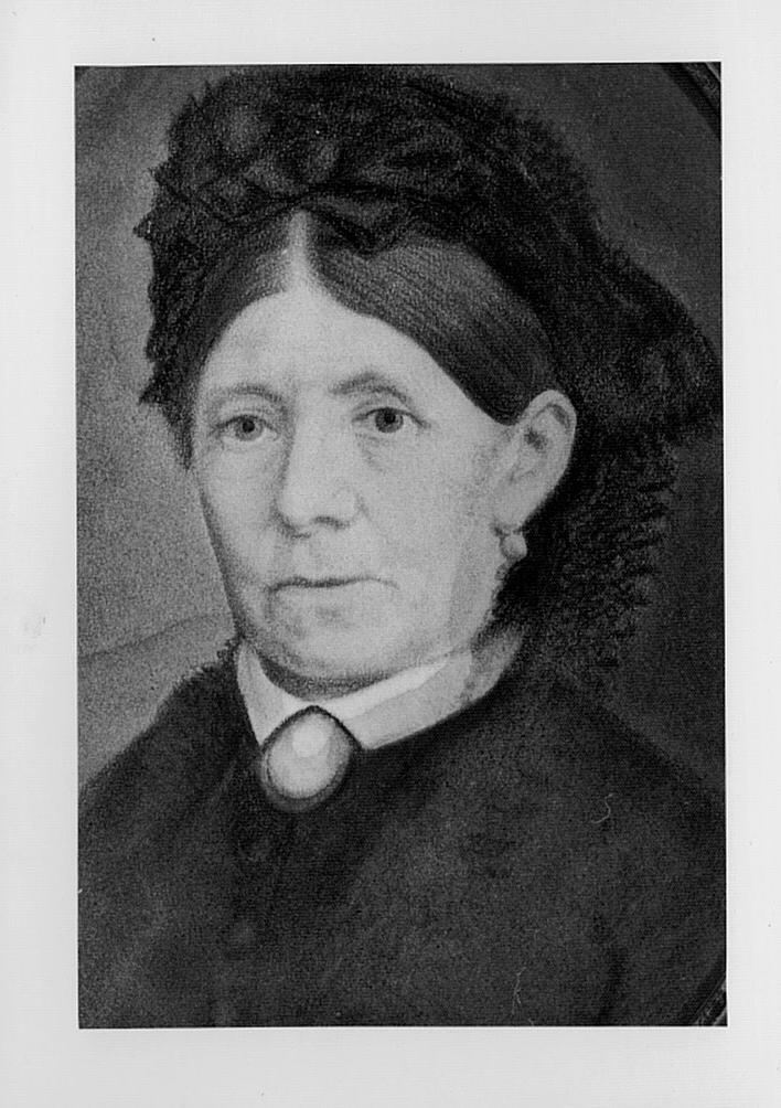 1820-1891 Maria Thess, Johannes' Frau