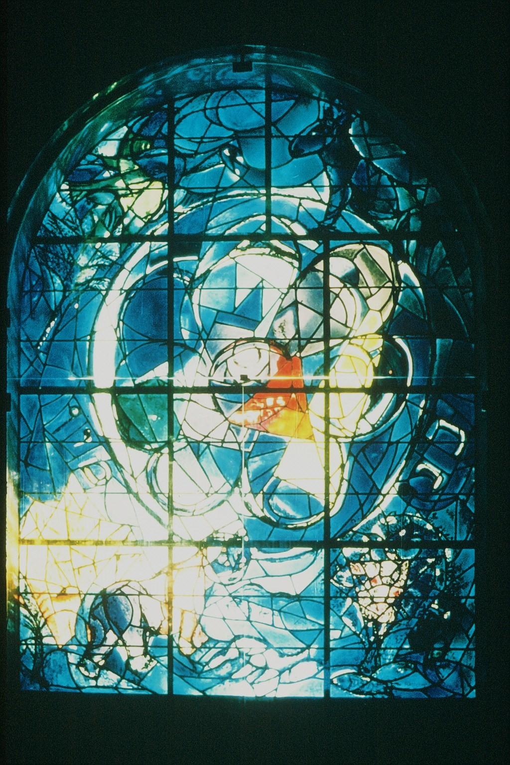 Chagall Fenster im Hadassah Hospital