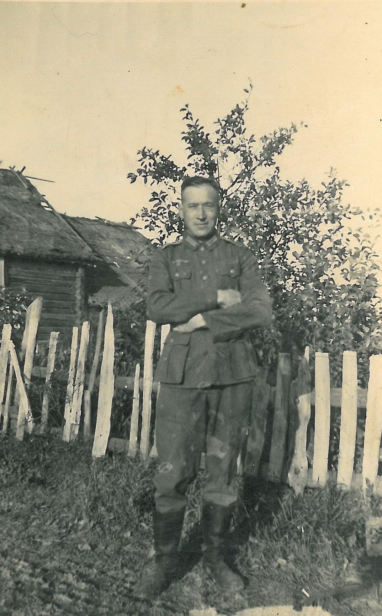 Alex Klein als Wehrmachtssoldat