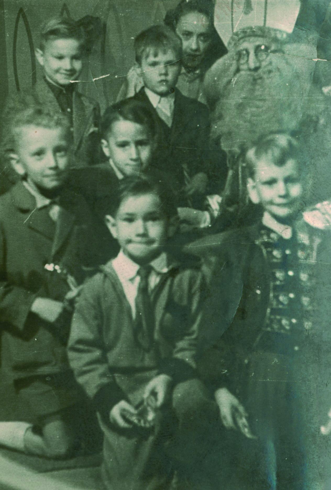 Beim Nikolaus im Grand Bazar Verviers 1955