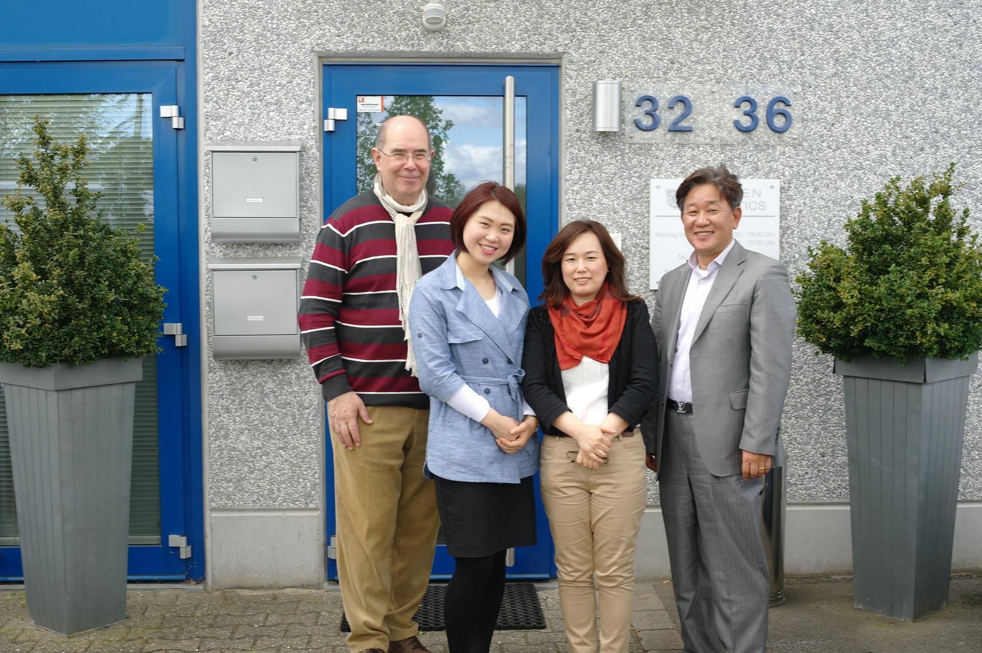 Korea zu Gast in Aachen 2015