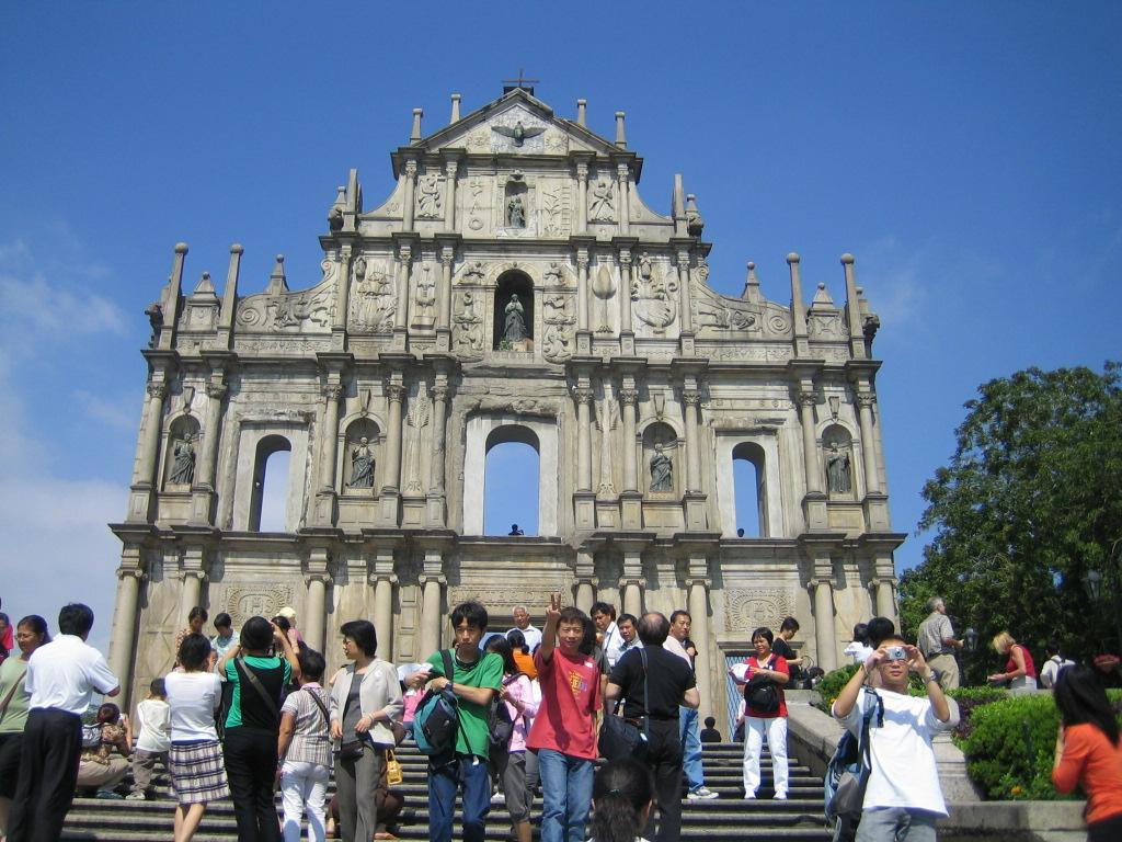Macao visit 2005
