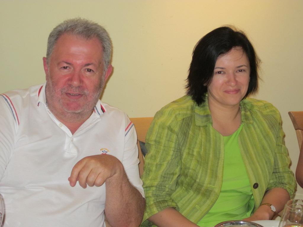 Rudolf Geller and Natasha 2011