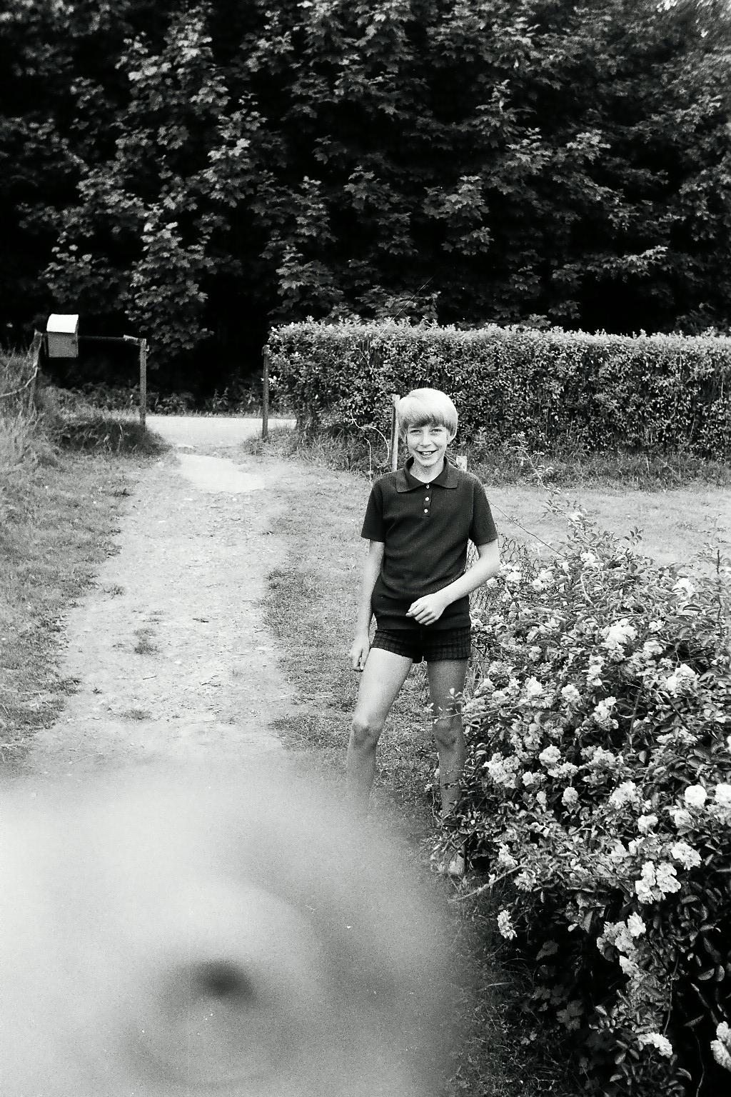Vetter Günter aus Nispert 1971