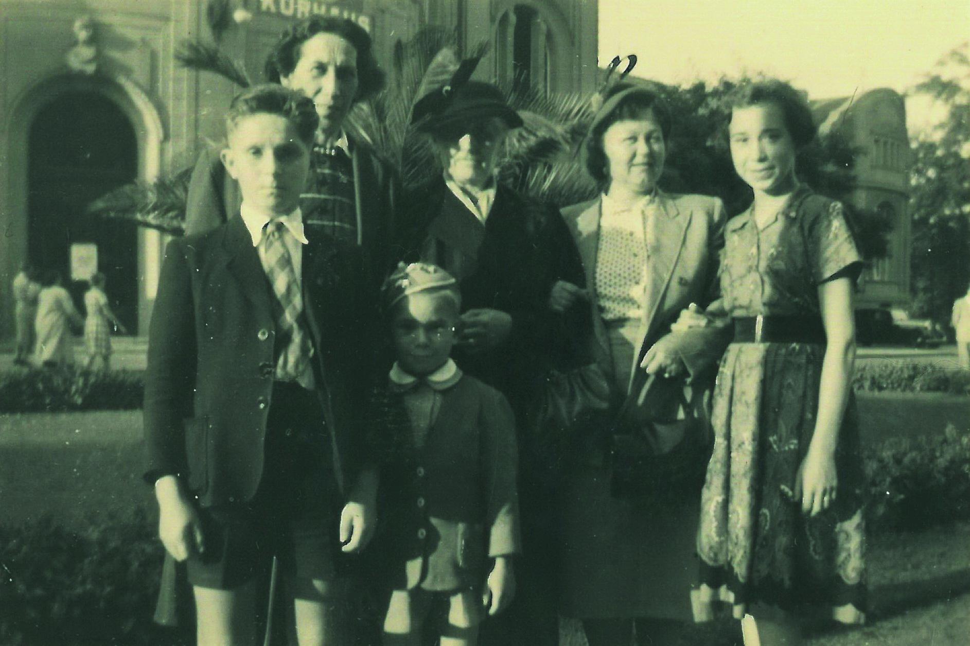 Besuch in Bad Neuenahr 1950