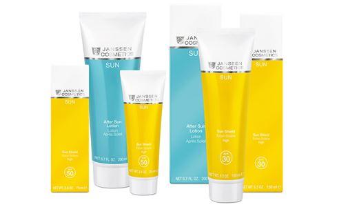 SUN - Der neue Sonnenschultz von Janssen Cosmetics