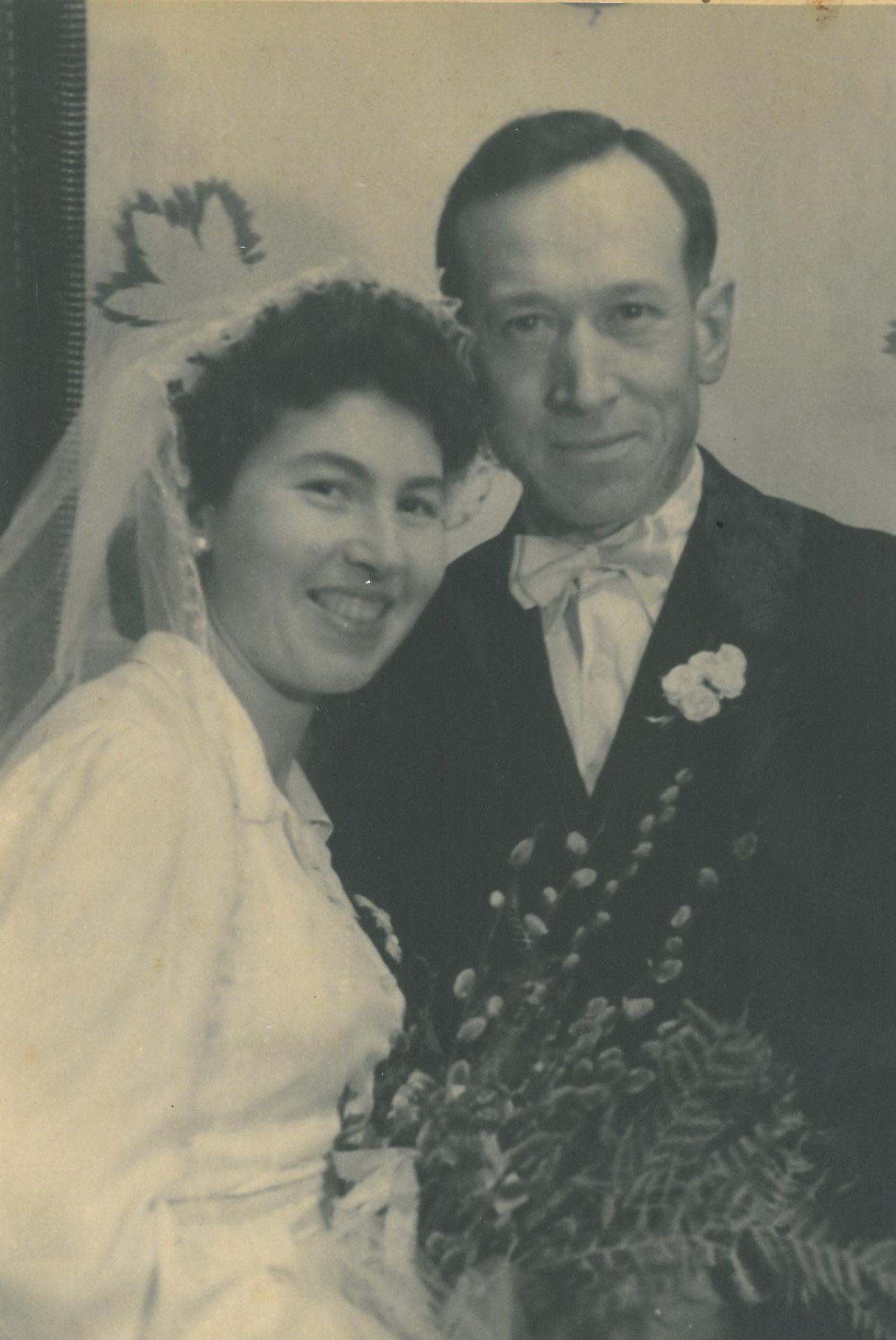 Onkel Alex und seine Frau Bertha