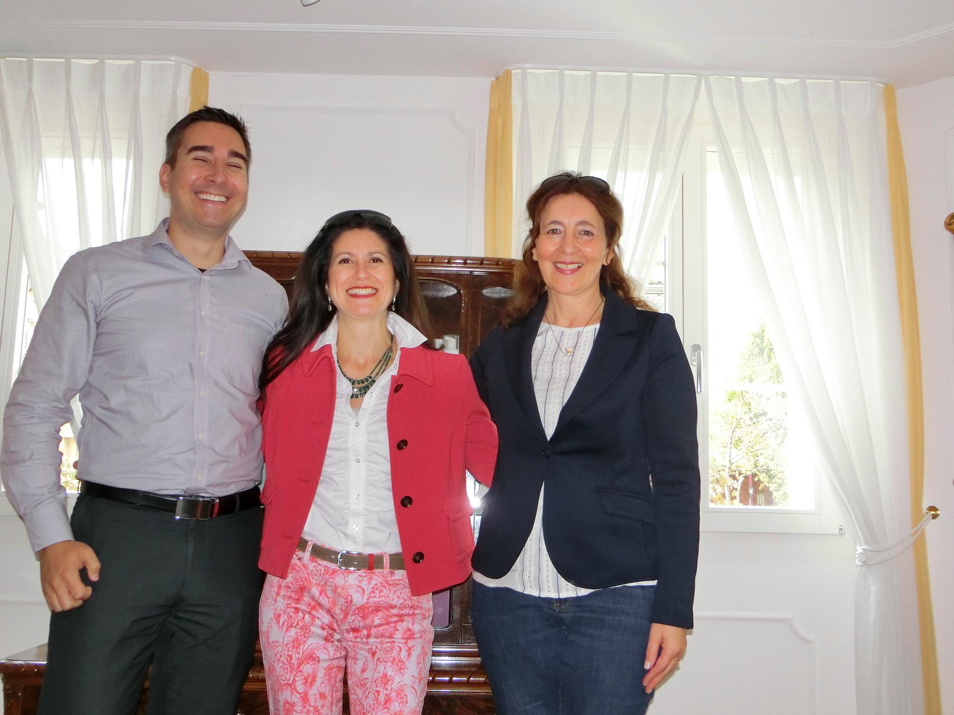Ulrich und Snezana bei Carmela Ramundo