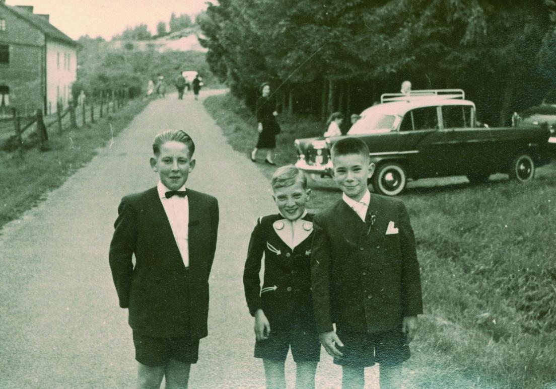 Mit Edgar und Bernd