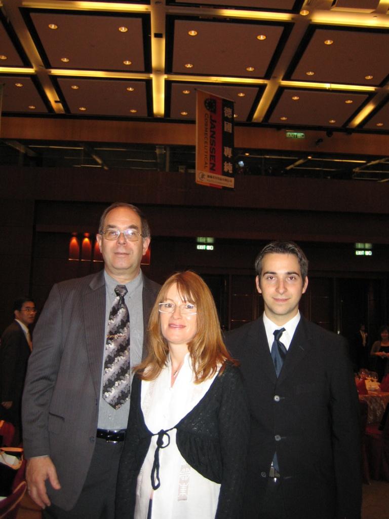 ...Walther Klara and Reinhard in Hong Kong 2005
