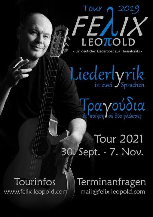 Griechische Songs verstehen - Felix Leopold geht auf Tournee
