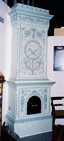 Antiker Fayence Ofen
