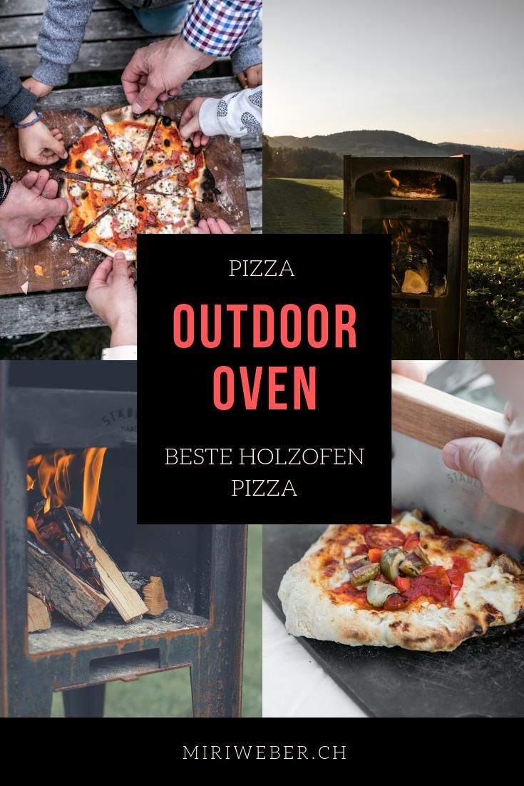 Outdoor Oven, Pizza, Holzofen Pizza, Pizza Ofen, draussen, Garten, kleiner Pizza Ofen, Outdoor, Pizza Grill, Content Creator Schweiz