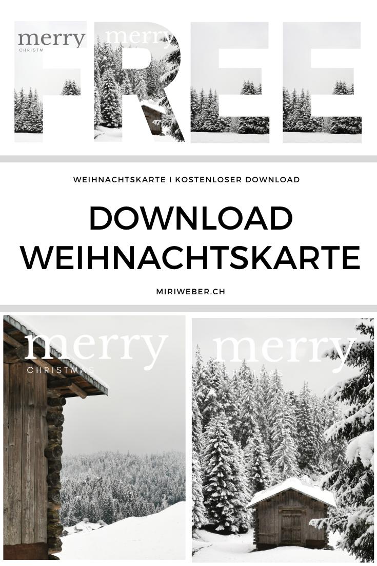 Weihnachtskarte, Merry Christmas, Postkarte, free, download, kostenlos, Vorlage, Winterwunderland, Weihnachten, Winter, Karte, gratis Karte, frohe Weihnachten, Bild, Winter, DIY Blog Schweiz, Blog Schweiz, Kreativblog Schweiz, Laax, Flims, Graubünden