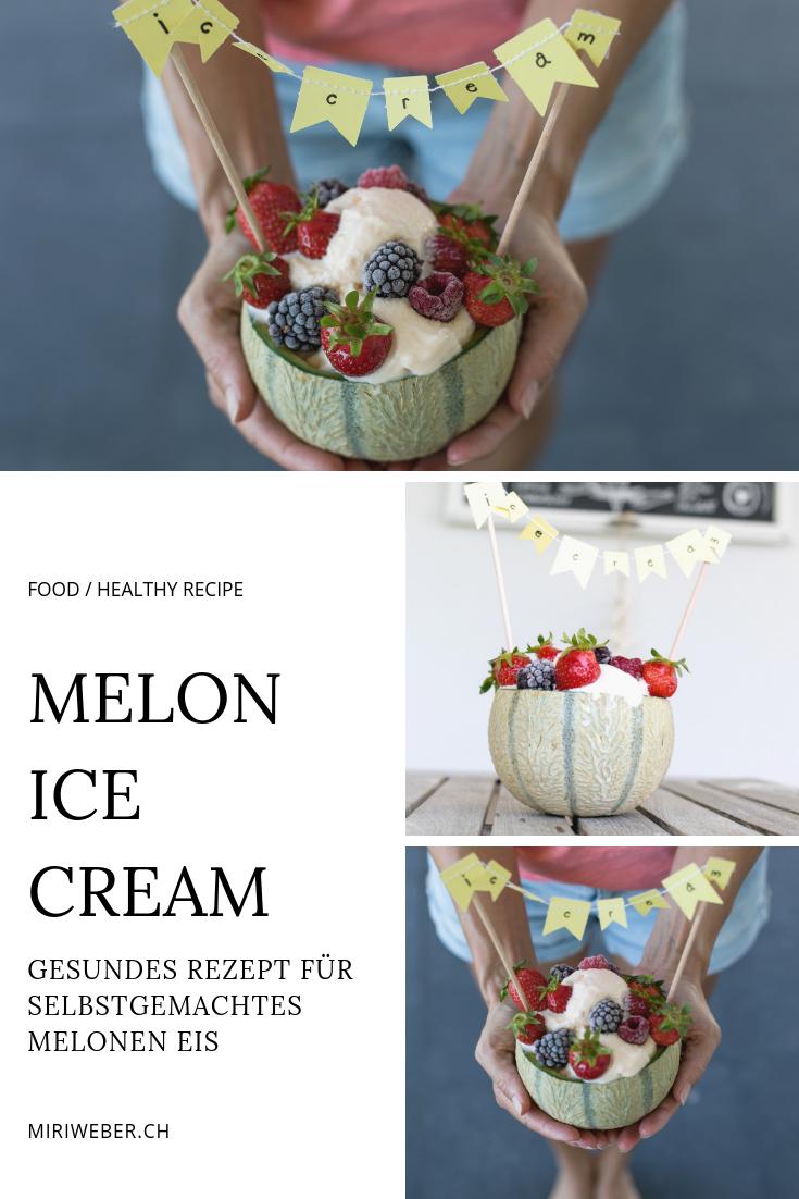 rezept, eis, ice cream, melone, honig melone, glace, eis selber machen, homemade, einfaches rezept, glace maschine, food blog schweiz, schweizer food blog, food bloggerin schweiz, food fotografie schweiz, gesund, kinder eis, gesundes dessert