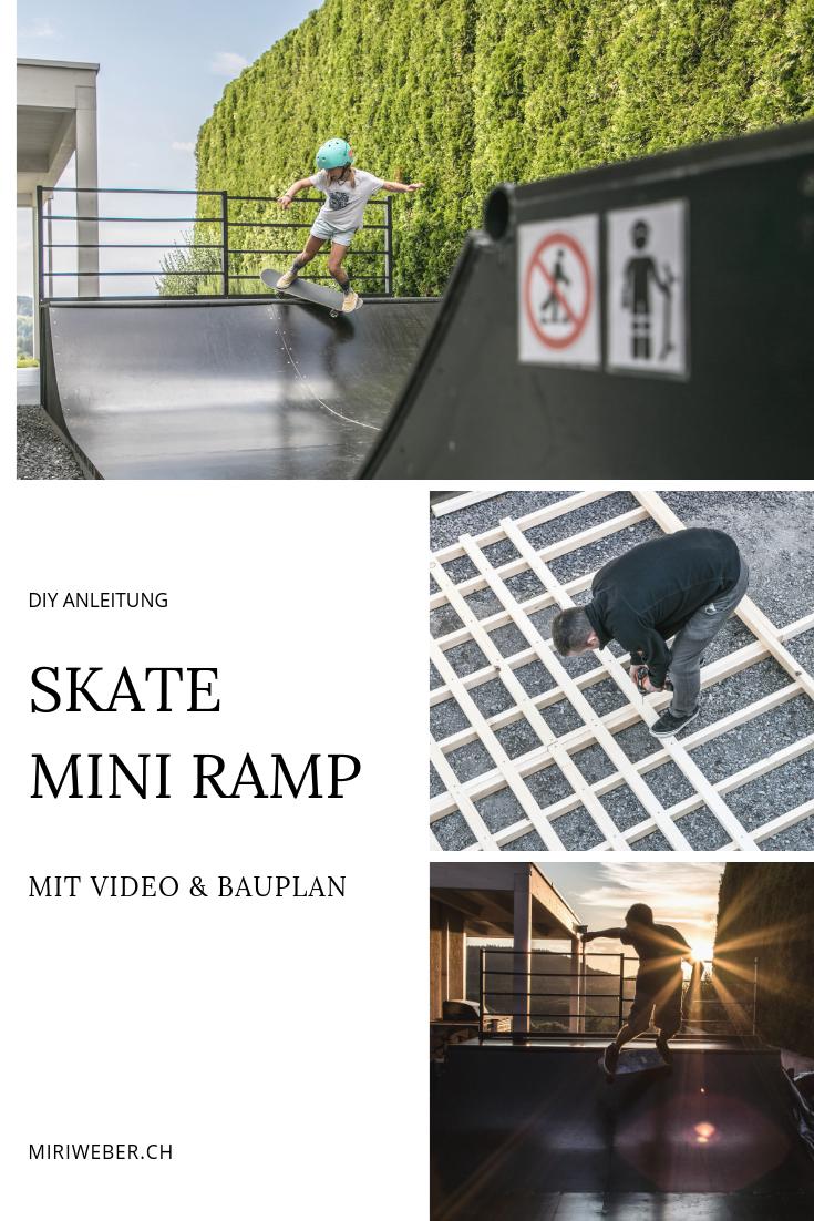 Skate, Mini Ramp, Half Pipe, DIY, Bauplan, selber bauen, Outdoor Ramp, Skateboard, selber machen, Back Yard, Micro Ramp, DIY Blog Schweiz, Familienblog Schweiz, Mama Blog, Schweizer DIY Blog, Bau Blog, Skateboarding