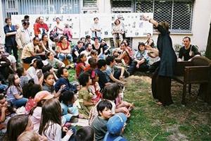 コミュニティの場・地域の活性化:写真パリ20区