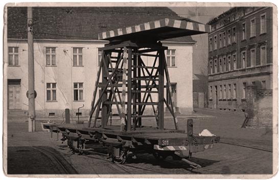 Die Turmlore 311 hat als letzte bis in unsere Tage überdauert. Sie bildete den Grundstein für dien Wiederaufbau des Lindner-Motorwagens Nr. 9 | Foto: W. Schreiner