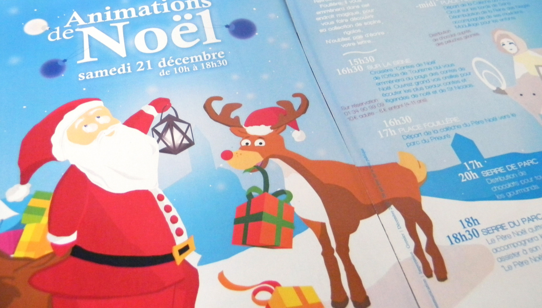 Flyer Animations de noël