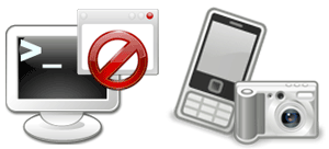 パソコントラブル時、携帯電話のカメラを活用!、PCcanサービスのイメージ図です。