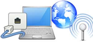 インターネット・Wifi設定、PCcanサービスのイメージ図です。